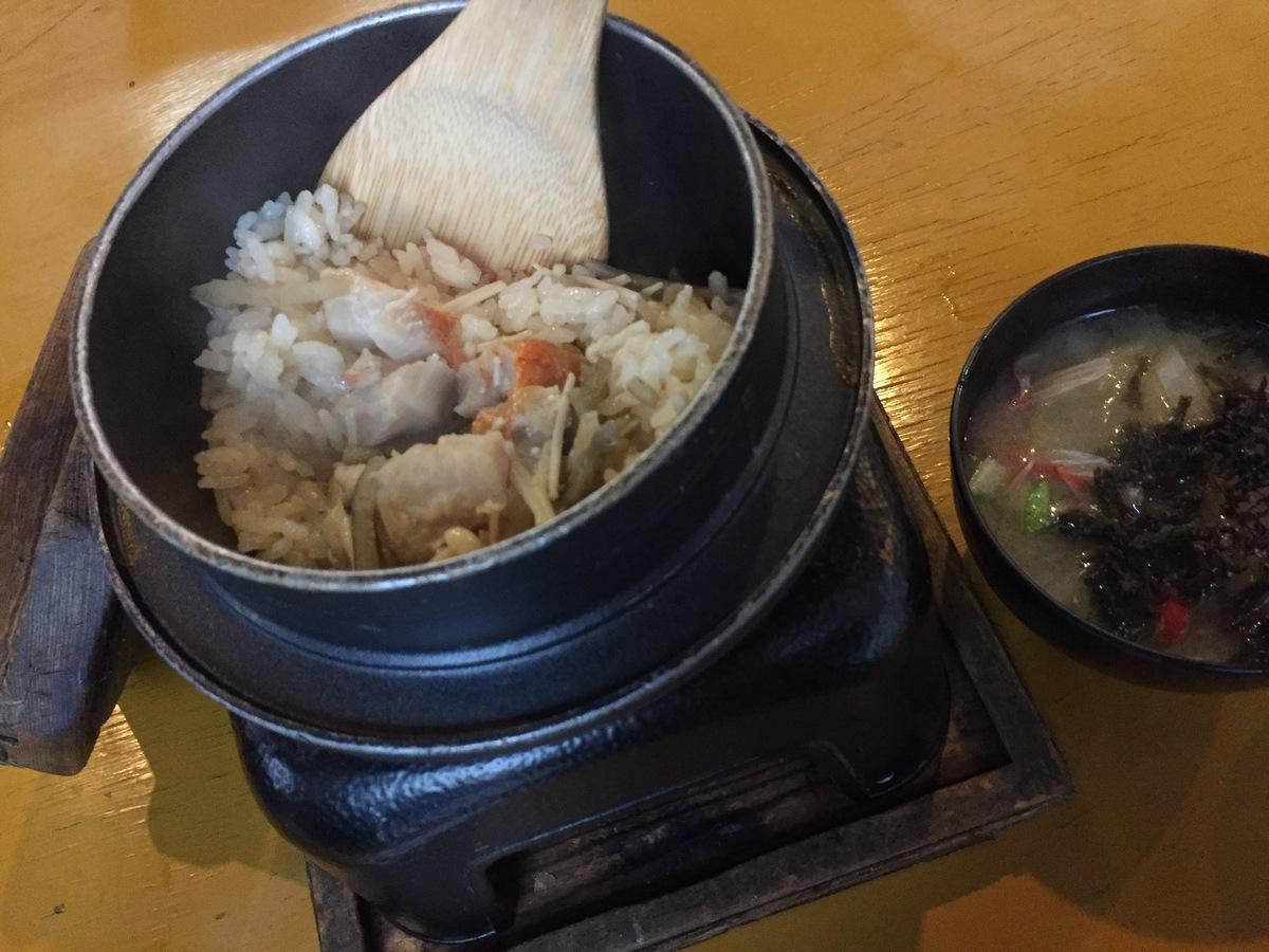 キンメの釜飯